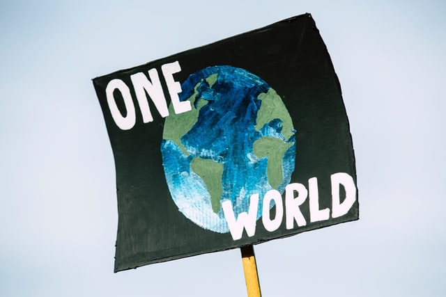 One World sign